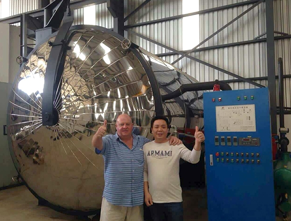 Vacuum drying equipment exported to South Africa