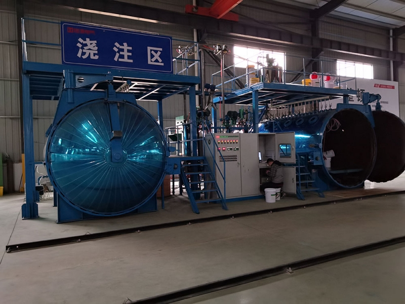 KCD electronic scale measuring vacuum pressure pouring equipment